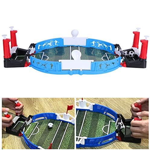 minifinker Mini Juego de fútbol, Juego de fútbol de Mesa de diseño ergonómico Durabl para Padres e Hijos para niños