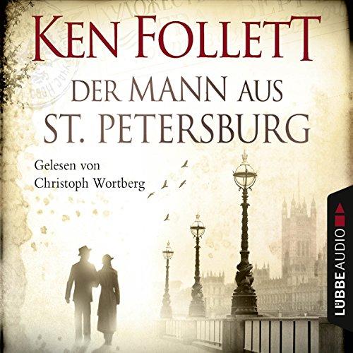 Der Mann aus St. Petersburg audiobook cover art
