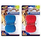 Nerf Dog Juguete para Perro con alimentador de neumáticos, Ligero, Duradero y Resistente al Agua,...