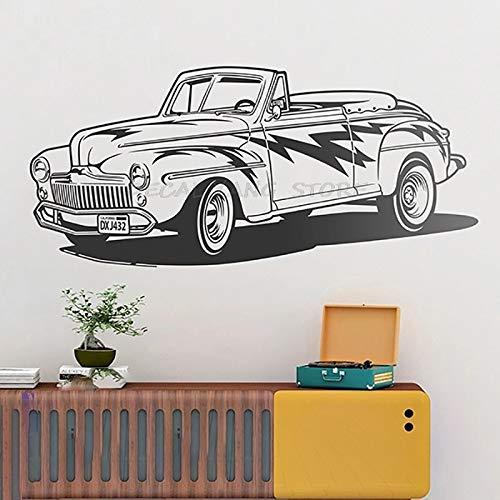 Personalidad creativa coche deportivo sala de estar estudio sofá dormitorio comedor dormitorio decoración niño pegatinas de pared