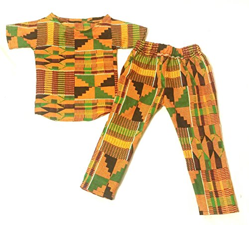 African clothing set/kente set clothes/baby clothing/Newborn clothes/African clothing/Ankara clothing set/African clothing/Kente pants set