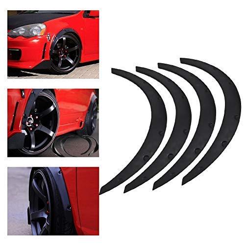 4guardabarros para ruedas de coche, tira de protección ancha, guardabarros universal, 82cm