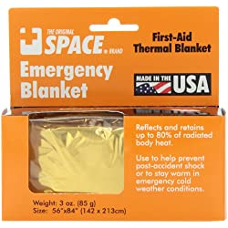 Grabber – The Original Space Brand Emergency Survival Blanket –...