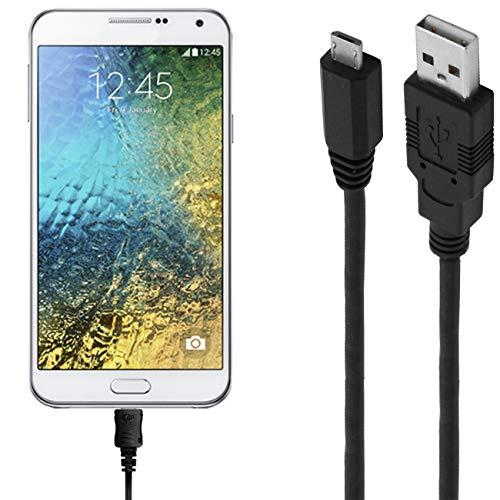 ASSMANN Ladekabel/Datenkabel kompatibel für Samsung Galaxy E7 - Schwarz - 1.8M