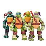 QYF Ninja Tortuga Juguetes Conjunto de 4, Figuras Ninja Tortuga de...