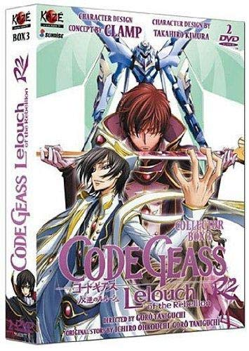Code Geass Lelouch of The Rebellion R2-Coffret 3/3 (Saison 2) [Édition Collector]