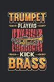 taccuino a tromba i suonatori di tromba calciano l'ottone: taccuino per banda di fiati, musicista e orchestra / diario / giornale per appunti e pianificazione / pianificatore e promemoria