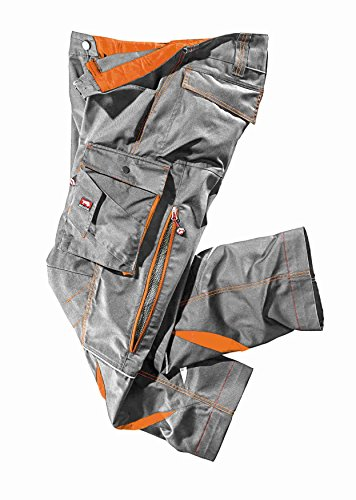 Bullstar Herren Ultra Arbeitshose, Grau (Grau 400), Medium (Herstellergröße: 50)