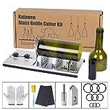 Kalawen Kit de coupe-bouteille en verre réglable Outil de bricolage, ensemble de machine de découpe en acier...