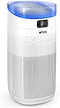 Afloia Smart Air Purifier for Home large Home about 1000ft², 3-Stage Filtration remove 99.99% Odor/Smoke/Pet Dander, 25dB Air Cleaner with H13 True HEPA Filter Auto Mode/Night Light/Sleep Mode -white