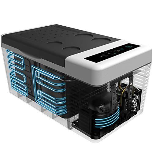 Nevera Portátil Eléctrica (18 Litros) Nevera Coche 12V 24V 220V Mini Frigorífico...