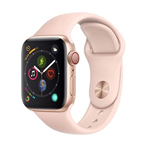 Apple Watch Series 4 (GPS + Cellular, 40mm) - Gold Aluminium Case with