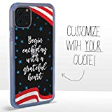Guard Dog Custom Clear Cases for iPhone 11 Pro Max – Personalized Quote –...