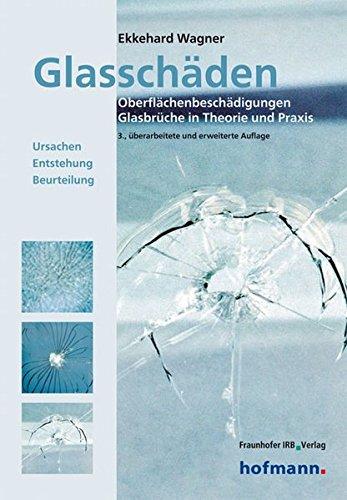 Glasschäden.: Oberflächenbeschädigungen, Glasbrüche in Theorie und Praxis. Ursachen, Entstehung, Beurteilung.