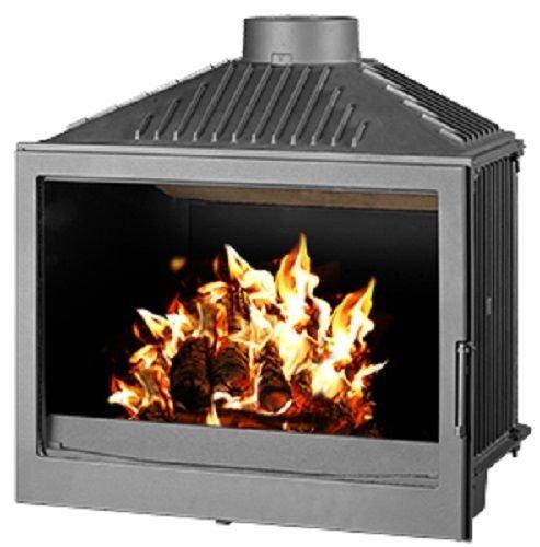 Bruciatore a legna con inserto per stufa a legna da ardere, 11 kW