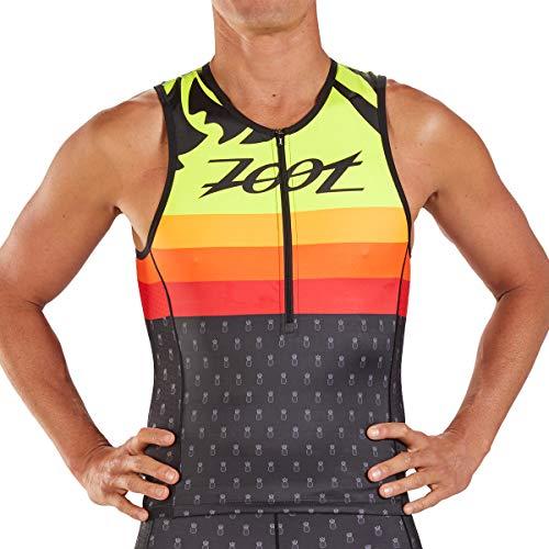 Zoot Uomini Triathlon Sport Tank Style Ali'I con Tre Tasche Posteriori, Cuciture LSF 50+ e SeamLink Dimensione M