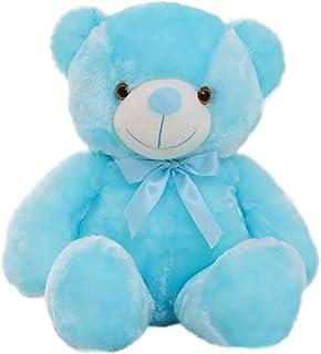 50cm Kids Toys Led Light Teddy Bear Stuffed Toy Led Lighting Christmas Plush Toys-Blue