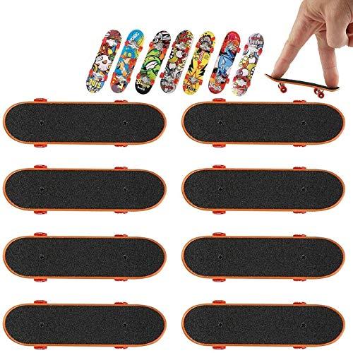 Mini Fingerboard, 6PCS Finger Skateboard Mini Finger Skate T