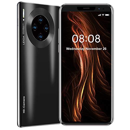 Mate36 PRO Smartphone Offerte, 512 RAM + 4GB Rom Economici Cellulari Smartphone, 5.8 pollici HD+ Cellulare Android 9.1, Quad Camera 8MP + 16MP, 3800 mAh Telefono 4G Dual SIM (Nero)