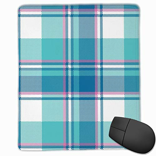 Baby Boy Blue Pastell Farbe Plaid 25 X 30 cm Mauspad für Computer Desktop PC Laptop