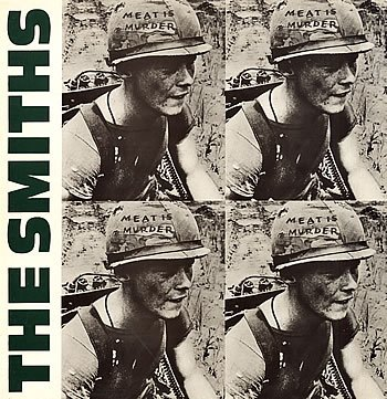 The Smiths Meat Is Murder 1985 UK vinyl LP ROUGH81