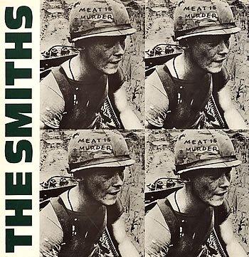 The Smiths Meat Is Murder 1985 UK vinyl LP ROUGH81