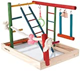 Penn-Plax Bird Life Activity Center – Perfect for Cockatiels, Conures, Parakeets/Budgies – Large...