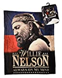 Midsouth Products Willie Nelson Throw Blanket 50' X 60' Always On My Mind