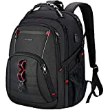 KROSER Travel Laptop Backpack 17 Inch Large Computer Backpack Stylish College Backpack