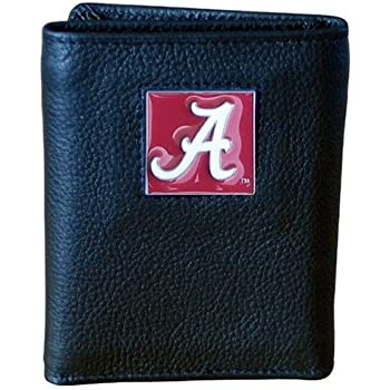 Siskiyou NCAA Leather Tri-Fold Wallet