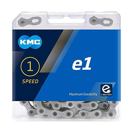 KMC Unisex– Erwachsene e1 Silver E-Bike 1-Fach Kette 1/2