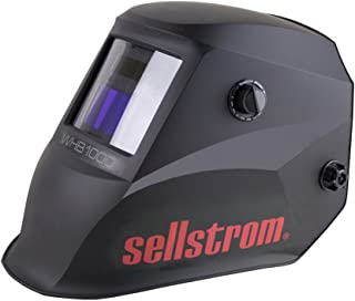 Sellstrom S26100 Advantage Series Welding Helmet with ADF - Black/Red