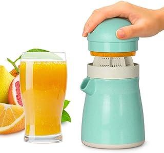 Exprimidor de limón, Exprimidor de Naranja, Exprimidor de Lima, Funria 2-en-1 Exprimidor Manual sin BPA para Cítrico de Na...