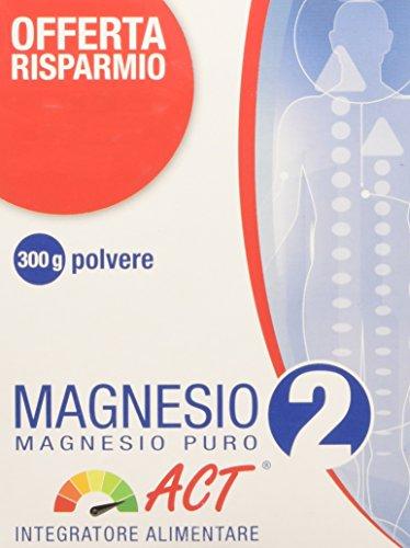 ACT Magnesio 2 Magnesio Puro, Blu, 300 Gr