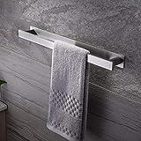 zunto bagno portasciugamani 40cm autoadesivo per portasalviette in acciaio inossidabile porta asciugamano