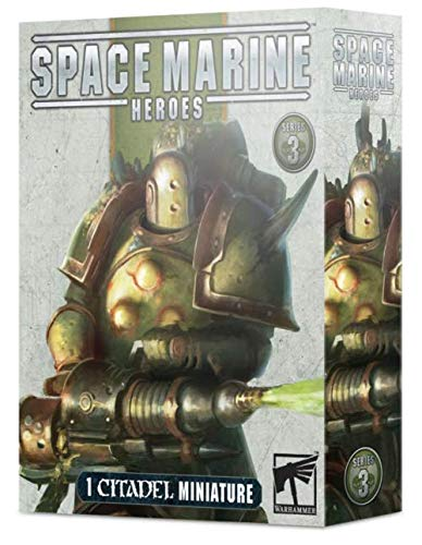Warhammer 40K - Space Marine Heroes Series 3 - One At Random