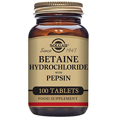 Betaine Hydrochloride with Pepsin 100 Tabletten SO