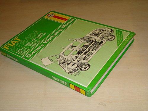 Fiat Strada 1979-85 Owner's Workshop Manual