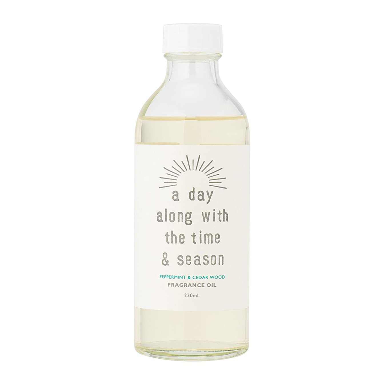 複雑なストレス複雑アデイ(a day) リードディフューザー リフィル ペパーミント&シダーウッド 230ml(芳香剤 詰め替え用 清涼感たっぷりのペパーミントにとてもまろやかな甘みのシダーウッドをあわせた香り)