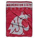 Washington State Cougars 'Basic' Raschel Throw Blanket, 60' x 80'
