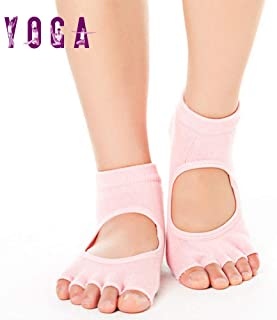 Amazon.es: calcetines pilates - Blanco