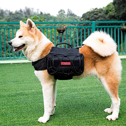 OneTigris Dog Pack Hound Travel Camping Hiking Backpack Saddle Bag...