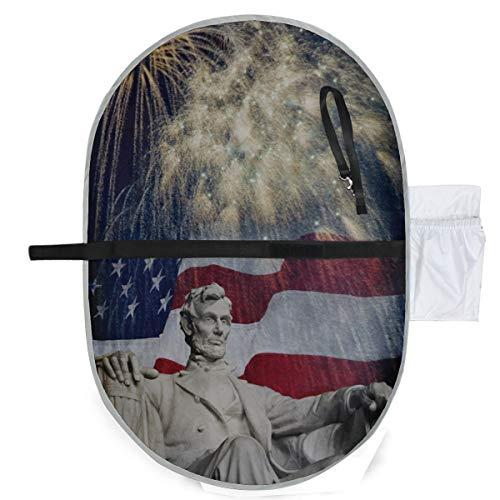 Foto Estatua Abraham Lincoln Lincoln Memorial Mat Pañales Pañales Cambiador...