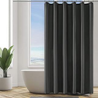 orlo ponderato lavabile e impermeabile Arteneur Forest accessorio per il bagno moderno e colorato Tenda da doccia in tessuto con 12 ganci 170 x 170 cm