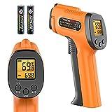 ThermoPro TP30 Digital Infrared Thermometer Gun Non Contact Laser Temperature Gun -58°F ~1022°F (-50°C ~ 550°C) with Adjustable Emissivity & Max Measure (NOT for Human Body Temperature)