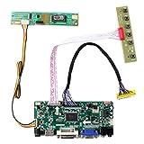 HDMI + VGA + DVI + Tarjeta de control de entrada de audio LCD para CLAA154WP05 B170PW01 Panel LCD de 15.4 '17' 1440x900 1CCFL