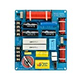HiFi 350 W Tablero divisor de frecuencia de 3 vías Herramienta KTV Divisor de...