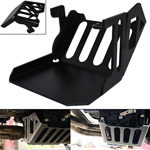 Motorcycle cover and mouldings Black Motorcycle Left Engine Oil Sump Pan Cover Chassis Guard Skid Plate Protector Kit fit For YAMAHA MT-09 Tracer 900 2016 2017 Motorcycle Accessories