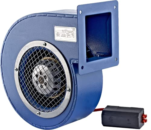 Ventilador radial SGF 120E, ventilador radial, 450 m3/h, forja, ventilador centrífugo