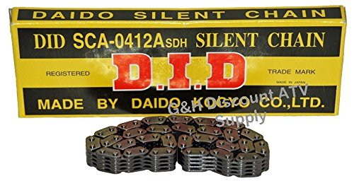 QUALITY SCA0409X110L D.I.D Engine Timing Cam Chain for 1988-2000 Honda TRX 300 2x4 4x4 Fourtrax